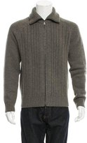 Prada Wool Cable Knit Sweater