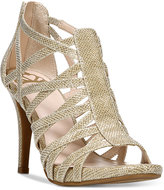 Fergalicious Hattie Caged Evening Sandals
