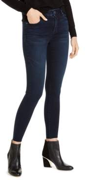 KUT from the Kloth Connie High Rise Fab Ab Skinny with Raw Hem