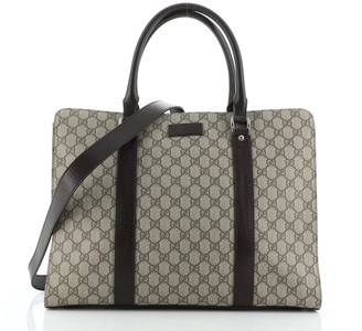 Gucci Convertible Briefcase GG Coated Canvas Large