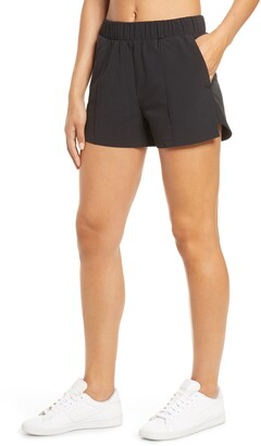 Zella Taylor Getaway High Waist Recycled Polyester Shorts
