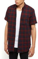 New Look Navy Check Short Sleeve Shirt