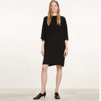 Marimekko Black Ines Loose Fit Dress - 40