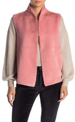 Velvet by Graham & Spencer Faux Fur Sleeveless Vest