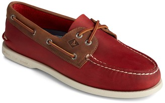 Sperry Authentic Original 2-Eye Leather Wild Horse Boat Shoe