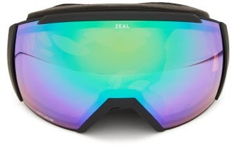 Zeal Optics Beacon Cylindrical-lens Tpu Ski Goggles - Black Multi