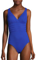 La Blanca Island Goddess Multi-Strap Crossback Swimsuit