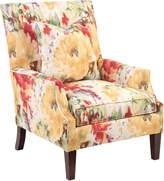John-Richard Collection John Richard High Back Scoop Arm Club Chair