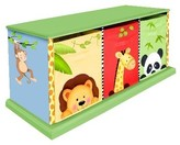 The Well Appointed House Teamson Design Sunny Safari 3 Drawer Cubby for Kids-ON BACKORDER UNTIL MID-JUNE 2016