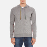 Paul Smith Accessories Ps By Paul Smith Hooded Jumper Grey