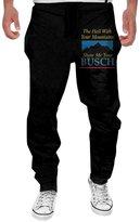 LDGWE Mens Busch Light Beer Men's Casual Sweatpants Pants