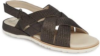 Amalfi by Rangoni Biondina Textured Sandal