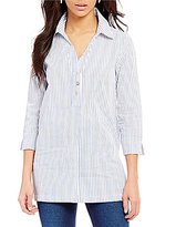 Westbound Point Collar Button Back Tunic