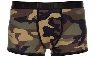Moschino Camo Logo Trunks