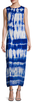 Young Fabulous & Broke Amara Tie Dye Printed Maxi Dress