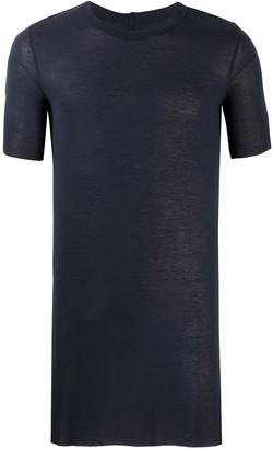 Rick Owens long-line plain T-shirt