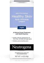 Neutrogena Healthy Skin Anti-Wrinkle Retinol Cream Treatment with combination of Pro-Vitamins B5, Vitamin E and Special Moisturizers, 1.4 oz