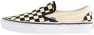 Vans Classic Slip On Checkboard Trainers Cream