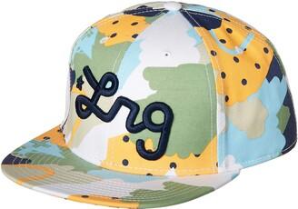 Lrg Men's Lifted Research Group Logo Flat Bill Snapback Hat