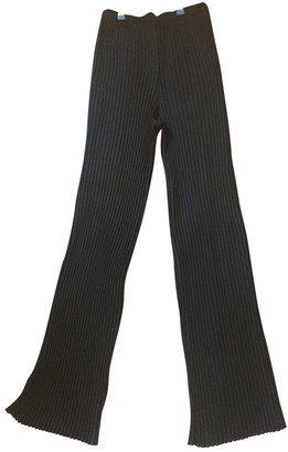 Avelon Black Trousers for Women