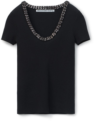 Collection Trapped Chain Pullover