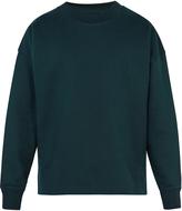 Lemaire Oversized cotton sweatshirt