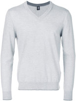 Eleventy V neck sweatshirt - men - Virgin Wool - M