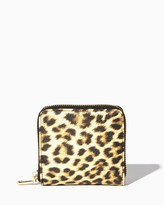 Charming charlie Leopard Square Wallet