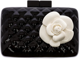 Sea Lily Quilted Rose Clutch