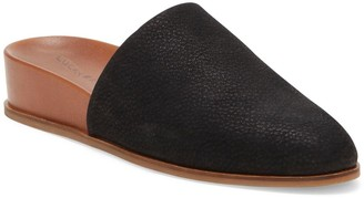 Lucky Brand Delsha Leather Wedge Mule