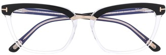 Tom Ford Square Frame Optical Glasses