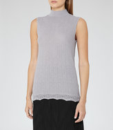 Reiss Anni Knitted Tank Top