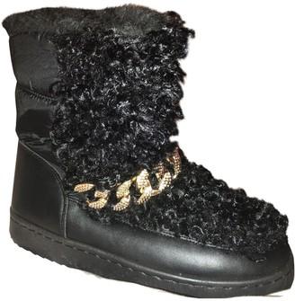 Non Signã© / Unsigned Non SignA / Unsigned Black Faux fur Boots