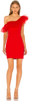 BCBGMAXAZRIA One Shoulder Mini Dress
