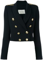 Pierre Balmain military jacket - women - Spandex/Elastane/Viscose - 42
