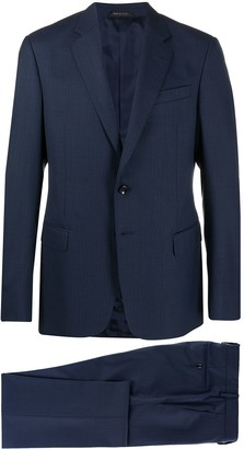 Giorgio Armani Single-Breasted Virgin Wool Suit