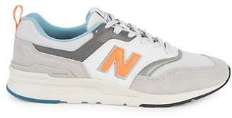 New Balance Logo Low-Top Sneakers