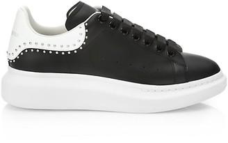 Alexander McQueen Men's Studded Oversized Sneakers