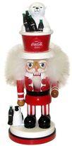 Kurt Adler Coca-Cola Polar Bear Hat Nutcracker