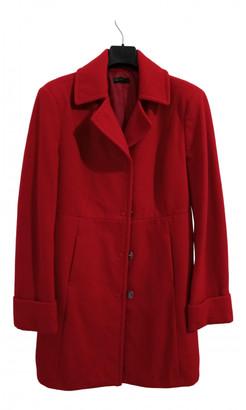 Benetton Red Wool Coats