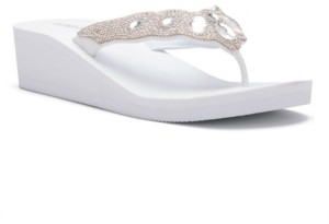 OLIVIA MILLER Royalty Sandals Women's Shoes
