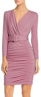 Marella Afa Belted Ruched Dress