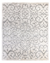 Bamboo Hand-Knotted Silk Rug