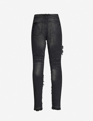 Val Kristopher Ripped skinny jeans