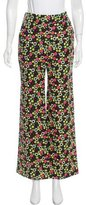 Orla Kiely Floral Print Mid-Rise Pants w/ Tags