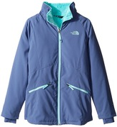 The North Face Kids - Girls' Mossbud Softshell Jacket Girl's Jacket