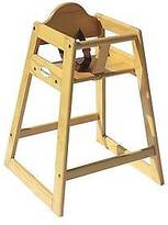 Foundations Hardwood Highchair