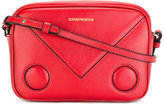 Emporio Armani logo print shoulder bag - women - Calf Leather - One Size