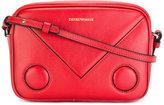 Emporio Armani logo print shoulder bag