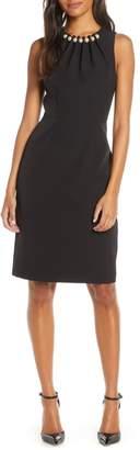 Harper Rose Embellished Sheath Dress